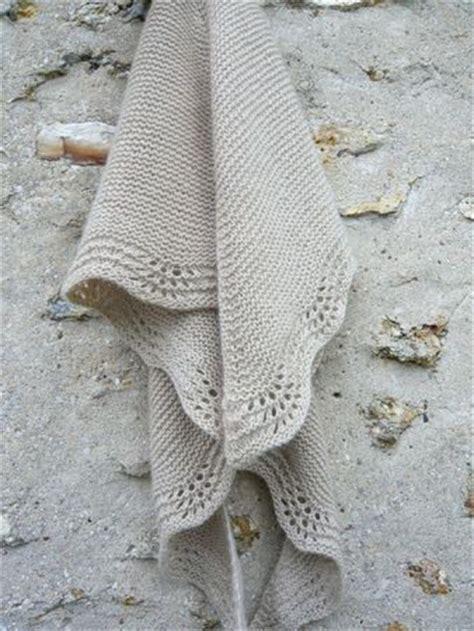 thinking pattern en francais le tuto du shawl en mousse et vagues tutos en