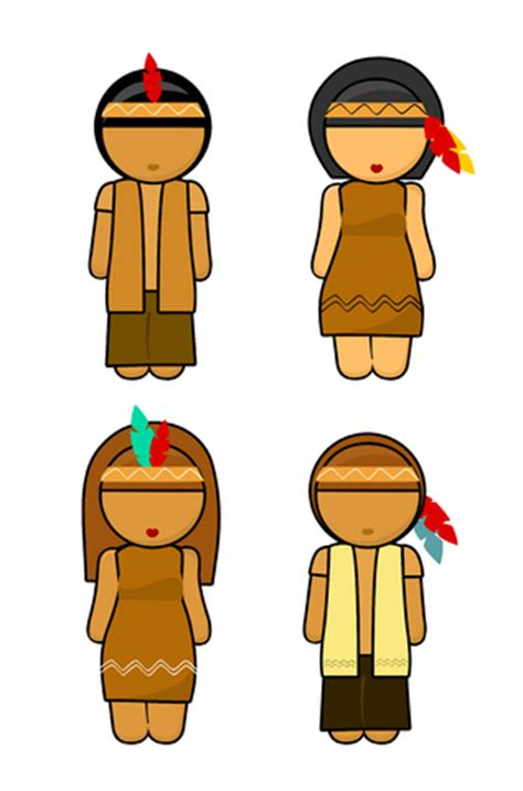 indian and pilgrim photo place cards template gettin skooled thanksgiving unit study