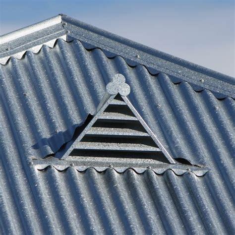 vent gable triangular revolution roofing