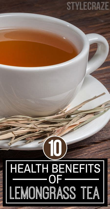 Lemongrass Detox Drink Recipe by 10 Amazing Health Benefits Of Lemongrass Tea Lemongrass