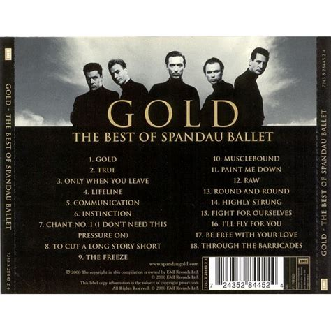gold best of spandau ballet gold the best of spandau ballet spandau ballet mp3 buy