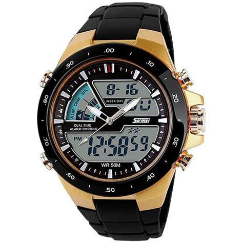 Jam Tangan Pria Sauron Box Led esiafone skmei jam tangan pria led sport ad1016