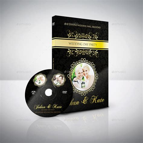 wedding dvd wedding dvd cover and dvd label template vol 3 by