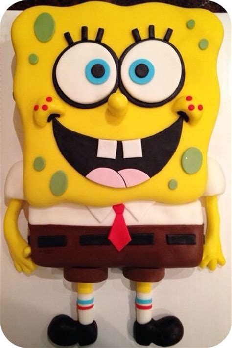 schwammkopf kuchen spongebob cake spongebob birthday