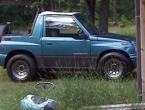 Suzuki Sidekick 97 Pyro1453 S 1997 Suzuki Sidekick In Littlelake Mi