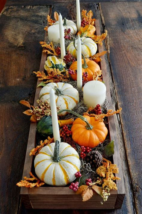 fall decor 30 festive fall table decor ideas
