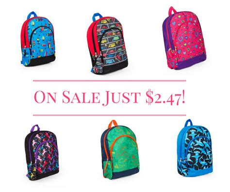 Free Backpack Giveaway Near Me - kids backpacks on sale just 2 47