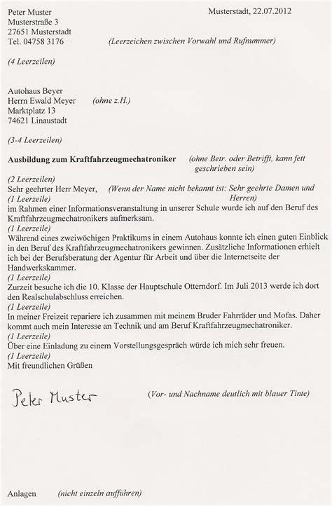 Bewerbungsschreiben Praktikum Hauptschule Bewerbungsschreiben Hauptschuleotterndorfs Jimdo Page