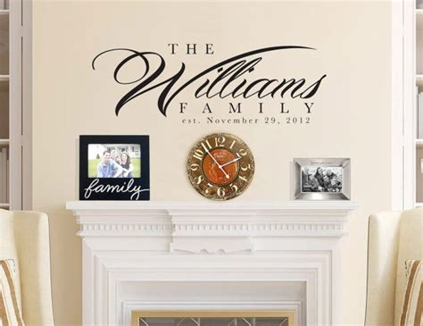 personalized last name wall decor 36x14 personalized family name wall for interior home