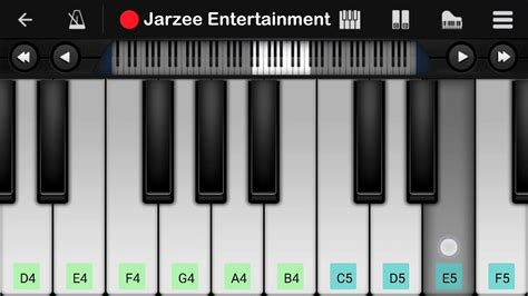 tutorial republic aye mere watan ke logon piano tutorial republic day