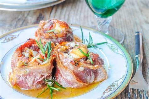 cucinare involtini di carne involtini di carne e pancetta gratinati al forno arte in