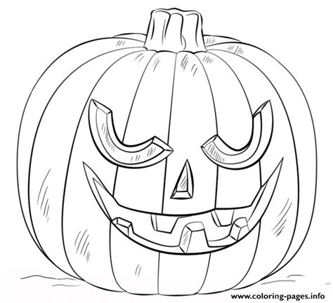 printable picture of jack o lantern jack o lantern halloween coloring pages printable