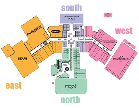 layout of valley view mall stores all 171 security square mall