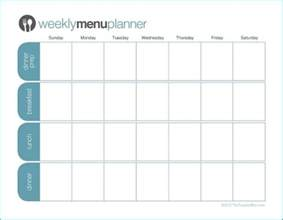 click to print tpm one week menu planner the peaceful mom
