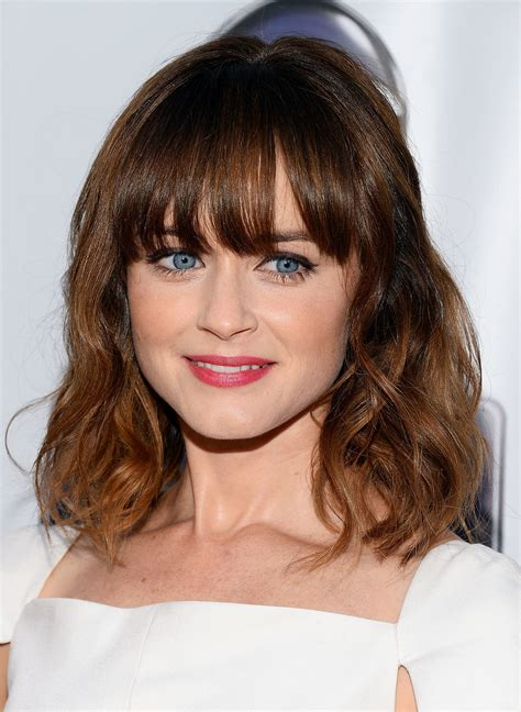 clavicut hairstyles alexis bledel the clavicut the best celebrity