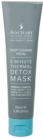 Sanctuary Spa 5 Minute Thermal Detox Mask by Sanctuary Spa 5 Minute Thermal Detox Mask