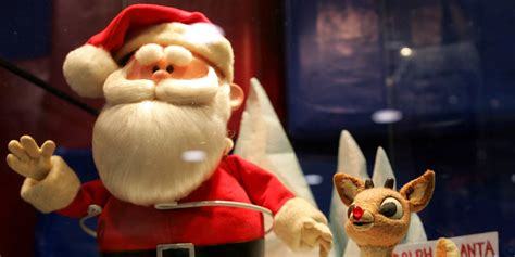 rudolph red nosed reindeer claymation