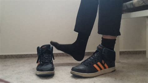 New In Adidas Neo Hoops Cloudfoam Mid 2 with my adidas hoops vs mid