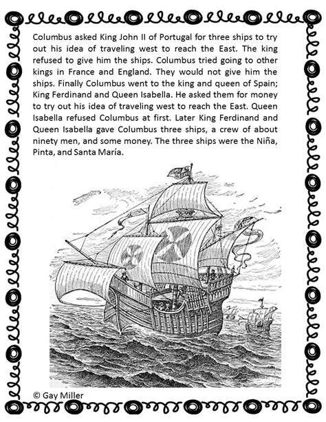 christopher columbus printable biography columbus day activities book units teacher