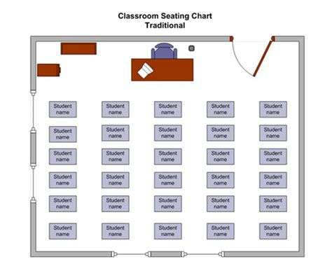 Classroom Seating Chart Classroom Seating Chart Template Horseshoe Seating Chart Template