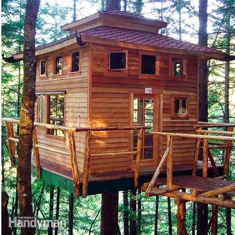 Livable Tree House Plans 9 Completely Free Tree House Plans