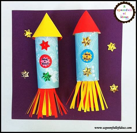 space craft ideas for simple outer space crafts rockets a spoonfull of