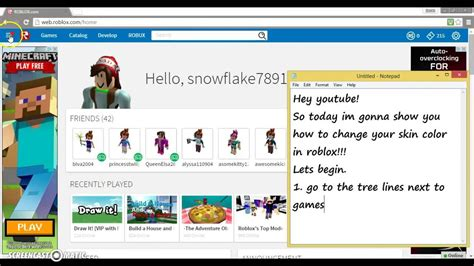 how to change your skin color how to change your skin color in roblox