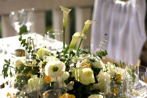 fancy table set for a wedding celebration stock photo fancy table set for a wedding dinner stock photos