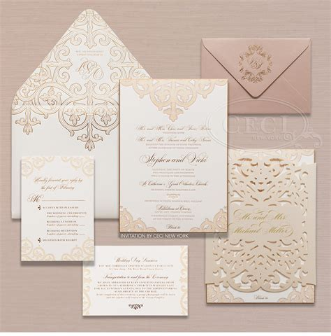 Cheap Gold Wedding Invitations by Luxury Wedding Invitations For Elegance Registaz