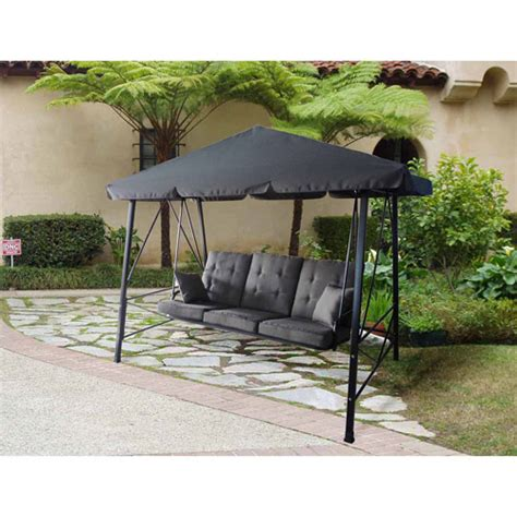patio swing set walmart get the gazebo swing for less at walmart com save money