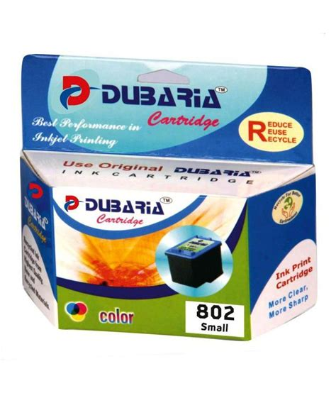 Cartridge Hp 802 Color dubaria 802 colour ink cartridge for hp 802 colour ink