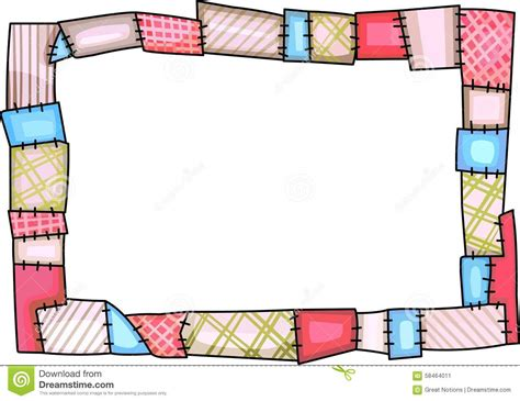 Sewing Quilt Borders by Stock Image Quilt Border Image 58464011