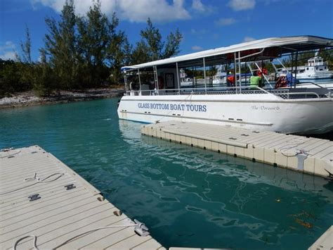 glass bottom boat reviews glass bottom boat tour picture of coco cay berry