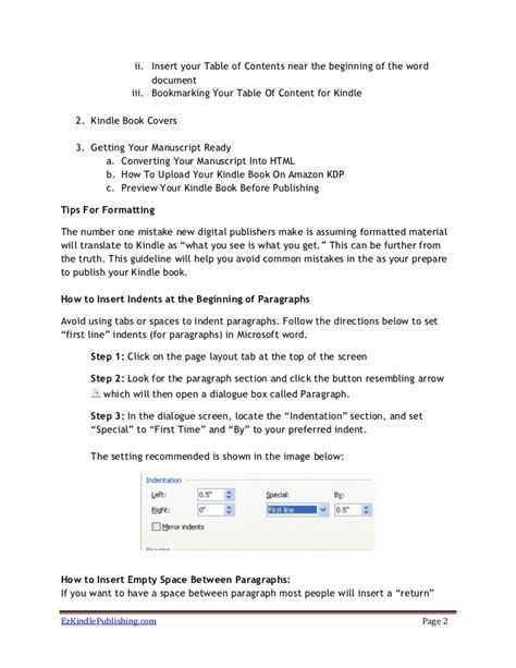 how to upload template in how to format and upload your kindle book