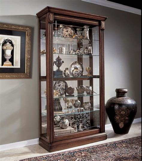 keepsakes curio cabinet furniture pulaski