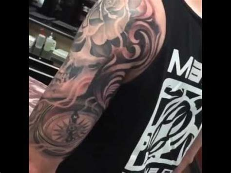 ricardo avila tattoo skull by ricardo avila tattostore