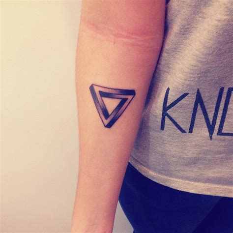 penrose triangle tattoo penrose triangle designs penrose