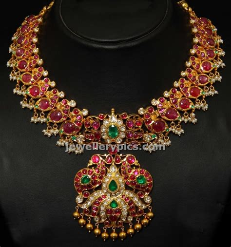 South Indian Attigai Inspired Choker Latest Jewellery