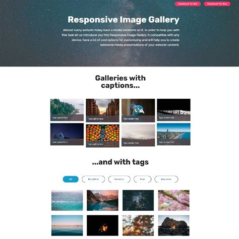 bootstrap layout gallery bootstrap image gallery with responsive grid