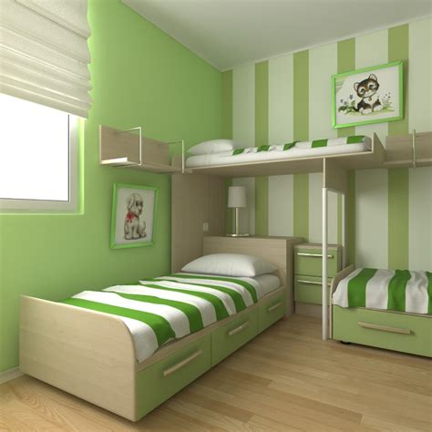 3d bedroom 3d model childrens bedroom