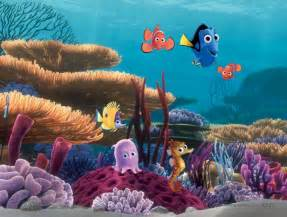Nemo Wall Mural nemo and friends wall mural wallpaper mural ideas 13685
