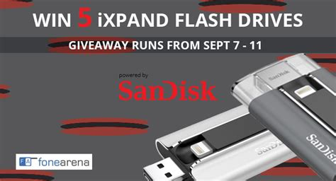 Flash Drive Giveaways - sandisk ixpand flash drive giveaway winner announcement