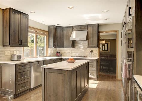 grey wood kitchen cabinets 25 best ideas about gray stained cabinets on