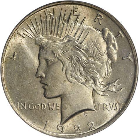 1 dollar silver coin 1922 1922 us peace silver dollar 1 pcgs ms63 ebay