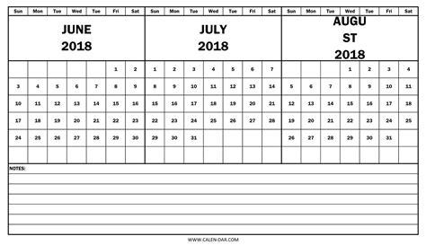 printable calendar summer 2018 3 month summer calendar 2018 printable fcbihor