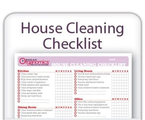 7 House Cleaning List Templates Excel Pdf Formats House Cleaning Templates Free