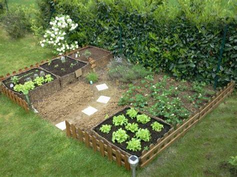 potager de jardin petit jardin potager photo 8 15 quelques salades quelques fraises du thym de