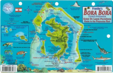 bora bora on map bora bora map my