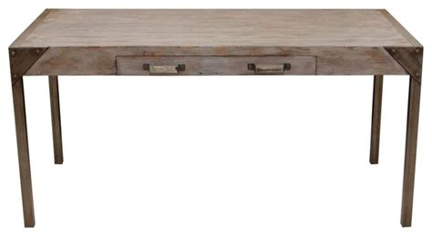 Reclaimed Wood Desk Furniture by Industrial Reclaimed Wood Desk Eclectic Desks And Hutches Los Angeles By Mortise