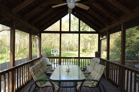 extraordinary sloping ceiling for enclosed decks with